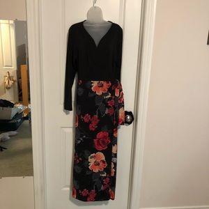Venus Floral Wrap Dress